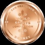2021 Bronze - San Francisco World Spirits Competition