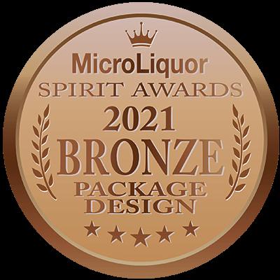 2021 Bronze Package Design - Micro Liquor